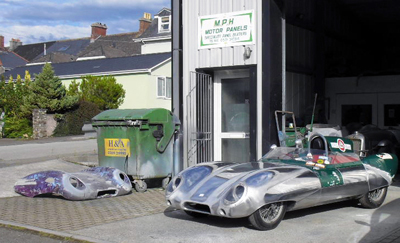 Restoration of Lotus Eleven by MPH Motor Panels