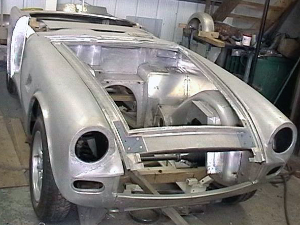 Triumph Tr 6 Restorations By Mph Motor Panels